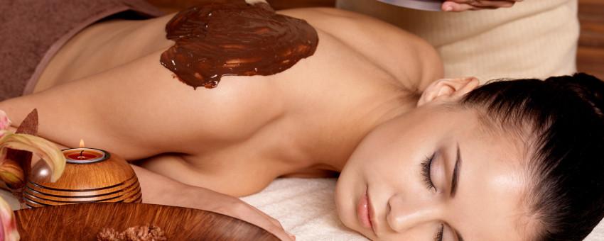 Masaże i zabiegi gorącą czekoladą